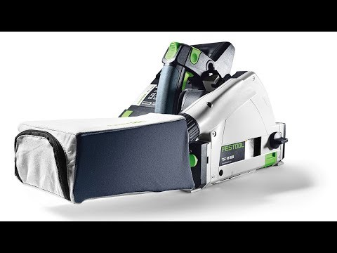 How to Install a Dust Bag on your Festool TS 55 / TS 75