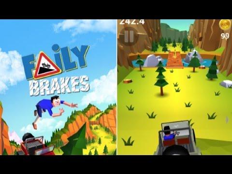 Faily Brakes Gameplay iPad | CrazyMikesapps