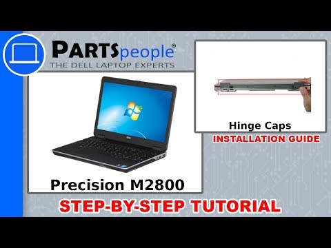 Dell Precision M2800 (P29F001) Hinge Cap How-To Video Tutorials
