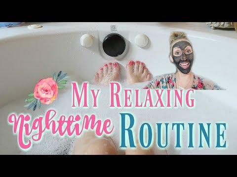 My Relaxing Nighttime Spa Night and Skin Care Routine/Get Unready With Me