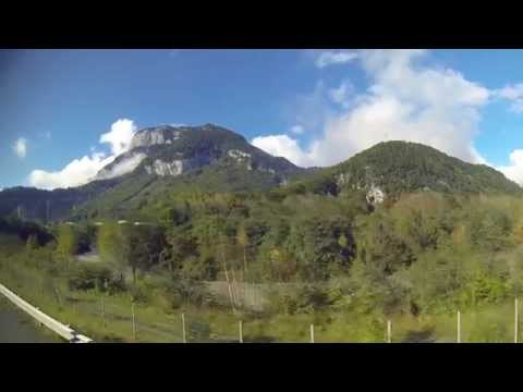 Hiking in Chamonix France, Montenvers route