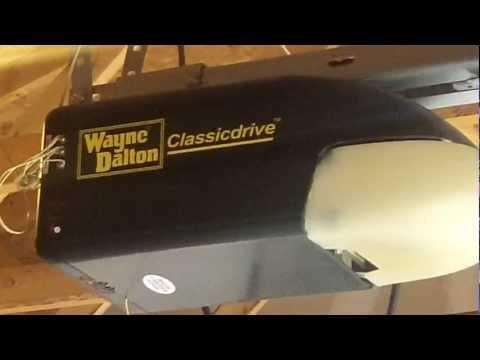 A Wayne Dalton Classic Garage Door Opener Aurora,IL PIECE OF JUNK Pt.2