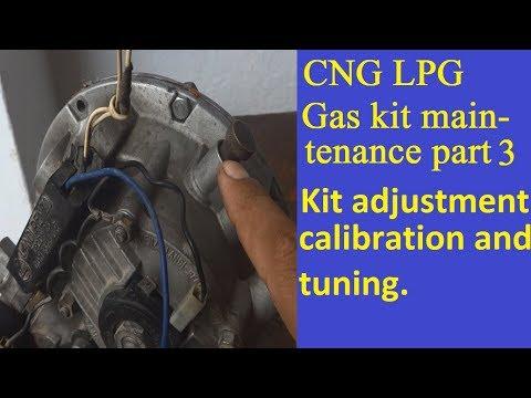 CNG kit maintenance part 3. Car CNG gas kit repair and maintenance. setting and tuning