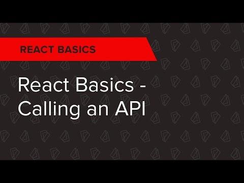 React Basics Ep. 4: React Basics - Calling an API
