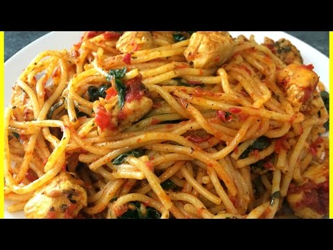 One Pot Spaghetti | Quick & Easy Spaghetti Recipe | One-pot Chicken Spaghetti
