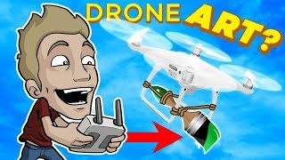 Can you PAINT with a DRONE!?