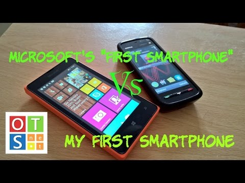 Lumia 435 Vs My First Smartphone, Nokia 5800
