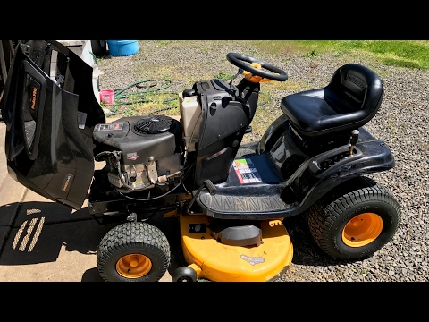 How To Change Oil And Fuel Filter On A Riding Lawn Mower