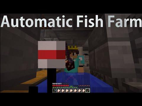 Minecraft 1.10/1.9 Automatic AFK fish farm tutorial