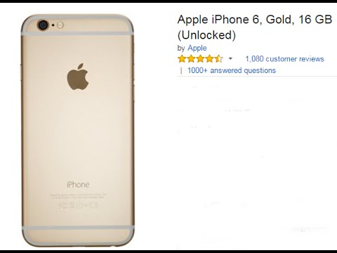 Best Buy Smartphone - Apple iPhone 6 Gold 16 GB Unlocked Full Reviews