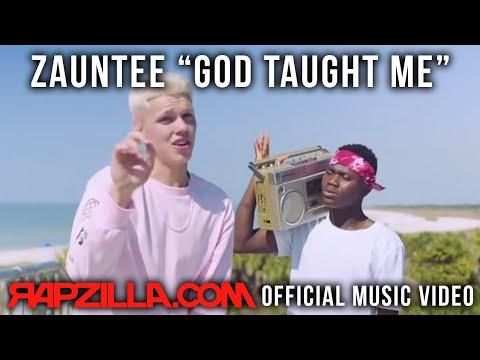 Zauntee - God Taught Me music video - Christian Rap