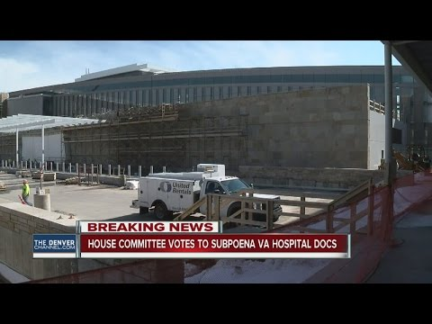Panel subpoenas VA over hospital cost overruns