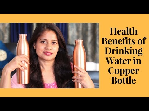 Benefits of Drinking Water from Copper Bottle