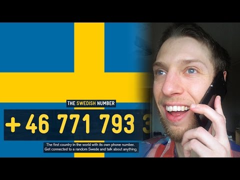 Phone calls from China and Mexico on the Swedish Number and Final Fantasy