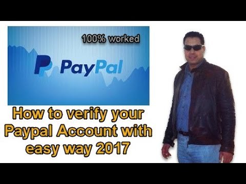How to verify your Paypal Account with easy way