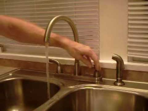 How to fix slow Peerless Kitchen Faucet (2 Handle)