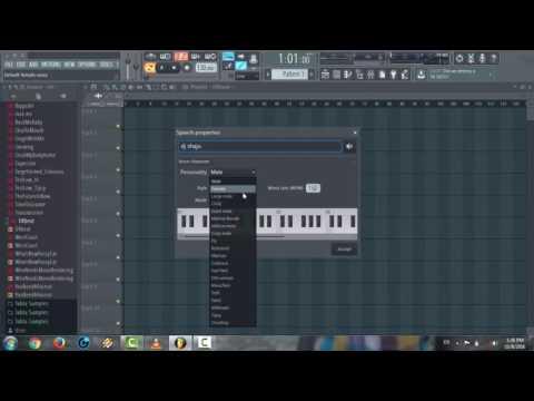 How To Make Dj Drop Name In Fl Studio