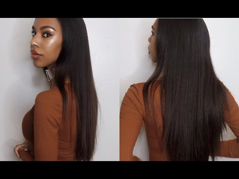 How to Preserve Straighten Natural Hair and Make it last longer!