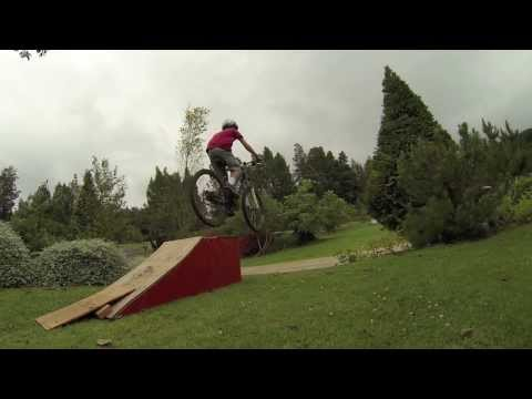 Backyard Bike Jumps