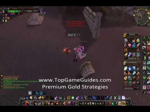 World of Warcraft - Azshara Golden Pearl Gold Farming 600g/Hour TopGameGuides.com SECRET!