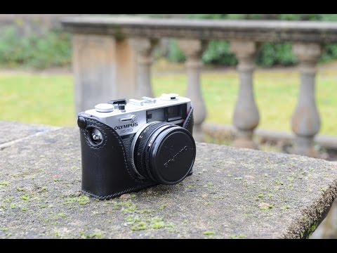 Making a case for an Olympus film camera