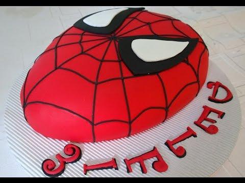 Torta Hombre Araña, Spiderman cake