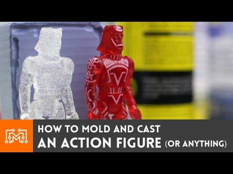Mold and cast an action figure ( or anything ) // How-To