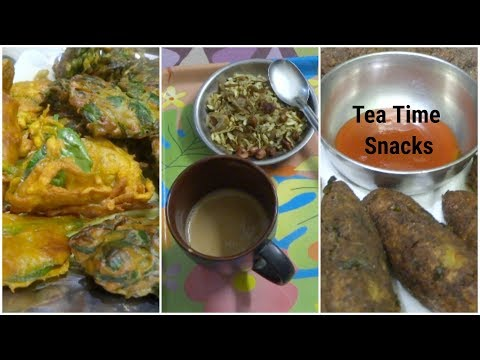 3 Tea Time  snacks recipes|| Easy and Healthy snacks recipes || Indian Quick and Instant Snack||