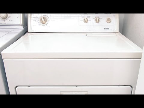 Whirlpool Dryer Direct Drive— Motor Replacement