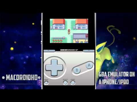 GBA Emulator on (iPod Touch/iPad/iPhone) (Install Tutorial in Description) /Review HD