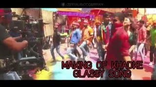 Making of Khadke Glassy song