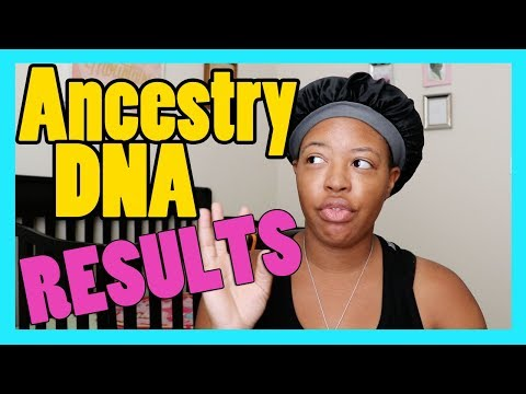 BLACK AMERICAN ANCESTRY DNA RESULTS