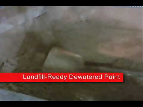 Wastewater Treatment of Latex Paint