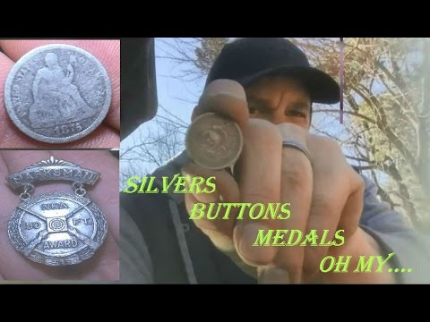 Silver Sunday - Metal Detecting at the Colonial Farm