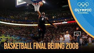 USA v Spain - Full Men's Basketball Final   Beijing 2008 Replays