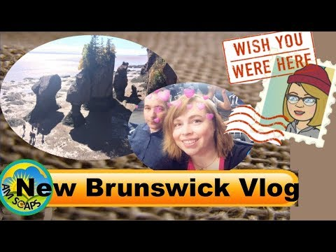 Vlog trip to New Brunswick and Sugar Bubbles Bath Bakery near Peggy's Cove