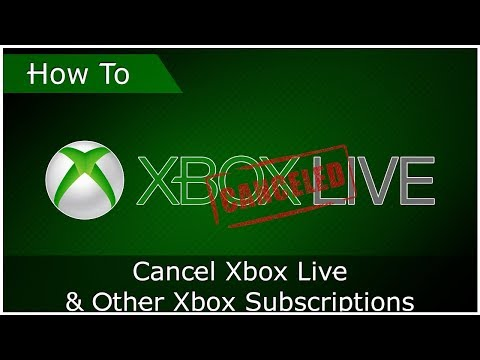 How To Cancel Xbox Live & Other Xbox Subscriptions (Updated)
