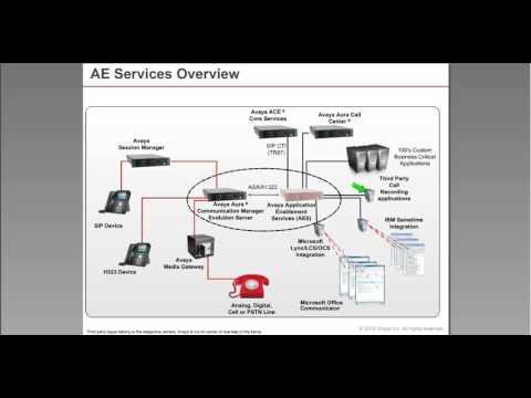 Avaya AES 7.0 (Avaya Enablement Server)