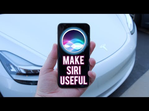 Hey Siri, Drive My Tesla (How To Use iPhone's New Shortcuts)!