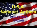 Usa National Anthem With Words Lance Organist