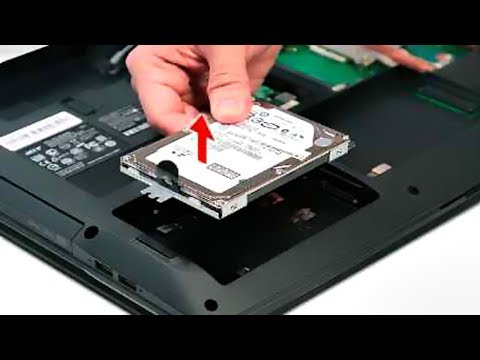 How to Remove Hard Drive From a Laptop Computer - 2018