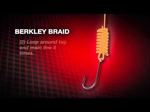How to tie a Berkley Braid Knot by Abu Garcia