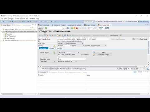 SAP HANA Academy - BW/4HANA: Data Flows - Connect to Objects