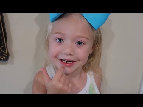 PULLING EVERLEIGH'S FIRST TOOTH OUT! (CUTEST REACTION EVER)