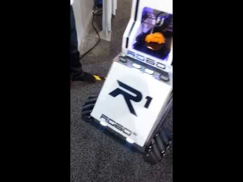 R1 Robo at the CES 2014