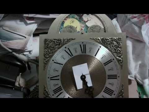 Replacing movement of grandfather clock, Emporer Clock, Hermle movement