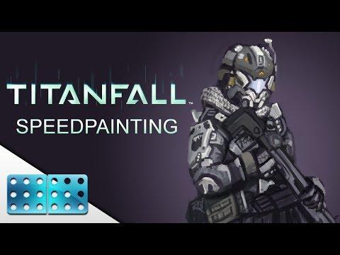 Titanfall Pilot Speed Painting [ 30min ]