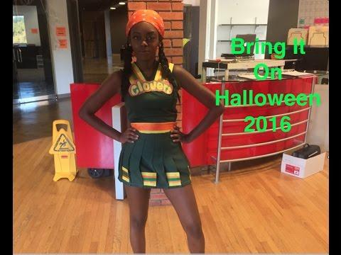Bring It On: Clovers Costume Halloween 2016// Hit The Floor McKinely Freeman