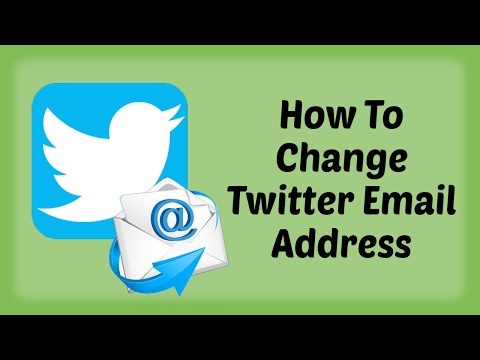 How To Change Twitter Email Address | Twitter Email Address Change | Twitter Tutorials in Hindi