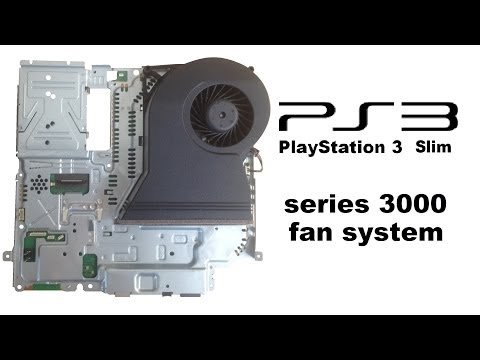 PlayStation 3 slim - Fan system - How to disassemble, CECH-30xxA/B